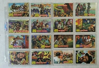 Roundup Western Trading Cards Lot Calamity Jane, Wyatt Earp, Buffalo Bill