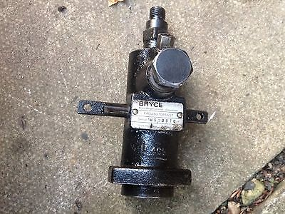 Lister Sr1 Stationary Engine. Bryce Fuel Pump
