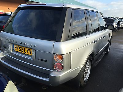 2002 Land Rover Range Rover Vogue Td6 Aut Full Leather, Sat Nav, Cruise,h/seats