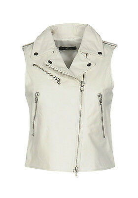 Gilet In Pelle Donna Twin-Set Simona Barbieri
