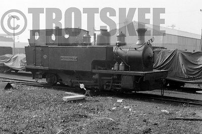 Larger Negative Industrial Steam Bowaters Railway Sittingbourne Chevallier 1958
