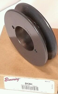 """Browning BK36H Fixed Pitch Sheave 1 Groove 3.75"""" Diameter (Bushing Required)"""