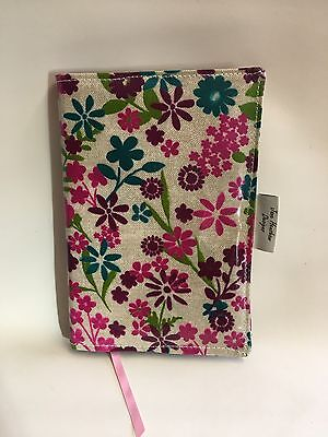 A5 Diary Cover,Journal Cover,Nurses Diary Cover,Page To View,Pink Flowered