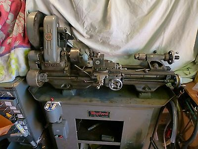 Myford ML7 Lathe on stand, many extras