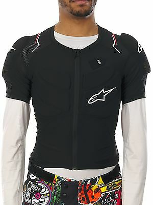 Alpinestars Black-White-Red 2016 Evolution MTB Protection Jacket