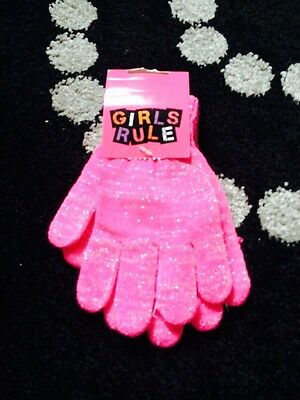 Girls Gloves/hand Wormers One Size