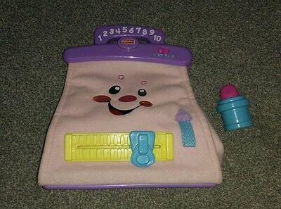 fisher price musical purse/bag toy