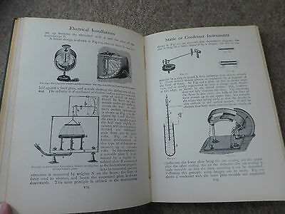 Rare Book Electric Instruments Volts Maps Ideal For Tesla Type Inventor 1906