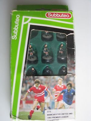 Subbuteo Manchester United 2nd 1993 premier League Champions