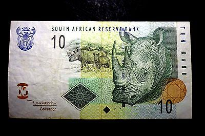 SOUTH AFRICA (10) TEN RAND BANKNOTE ~ BIDDING STARTING AT ONLY 99p