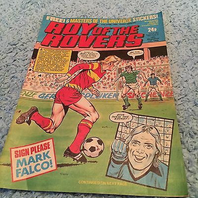 Roy Of The Rovers Comic Football 27 April 1985