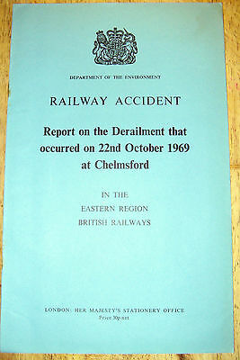 Railway Accident Report, Chelmsford 1969