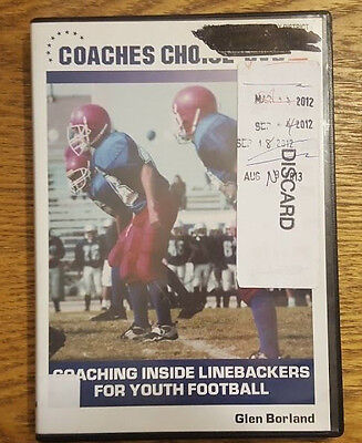 Coaches Choice DVD: Coaching Inside Linebackers for Youth Football, Glen Borland