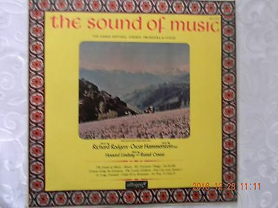 A vinyl LP titled THE SOUND OF MUSIC