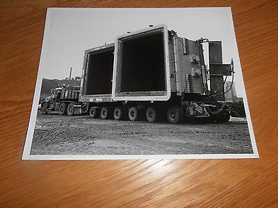 Original, Photo, Of  Vehicle delivering Machinery to Port Talbot Steelworks