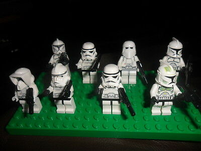 Super Lego Collection Of Starwars  Mini Figures Most Different   Ex  Cond 1
