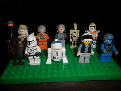 Super Lego Collection Of Starwars  Mini Figures Nearly All Different   Ex Cond 2