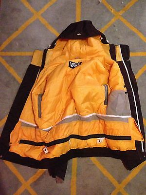 Vans Ladies Large Snowboard Jacket Brown Ski