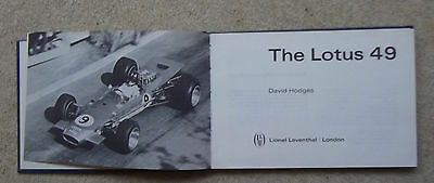 THE LOTUS 49 by DAVID HODGES ,FORD-COSWORTH DFV