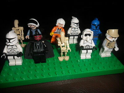 Super Lego Collection Of Starwars  Mini Figures All Different   Ex  Cond 4