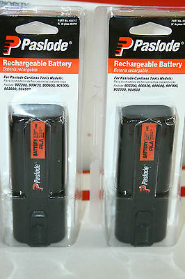 2 x Paslode 6V NiCd Battery  for Cordless Tools  NEW in sealed package