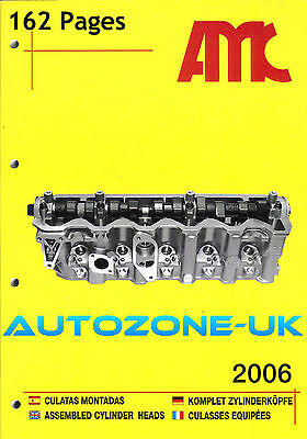 Amc Assembled Cylinder Heads Catalogue 2006 With Pictures Unused 162 Pages