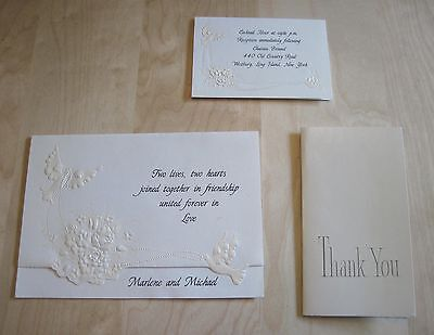 Mike Portnoy's wedding card (Dream Theater, The Winery Dogs, 1992, rare)