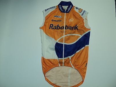 Cycling Rain Vest Rabobank Agu New! 3-M