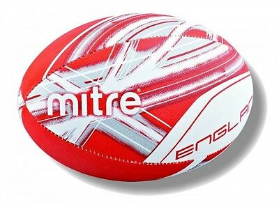 Mitre England Supporter Rugby Ball Red Size 5