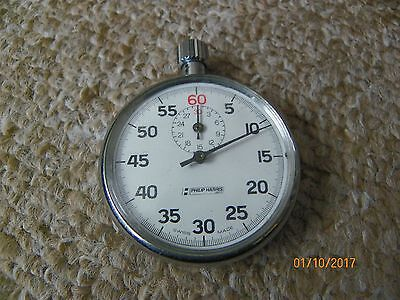 Good quality Philip Harris Swiss made mechanical Stopwatch RRP £70 in GWO