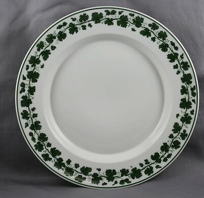 "KPM Royal Berlin Green Vine Luncheon  Plate 9 1/8"" Sold Individually 1St Quality"