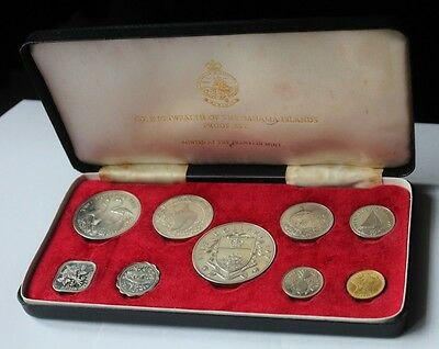 1971 Commonwealth of the Bahama Islands Proof Coin Set