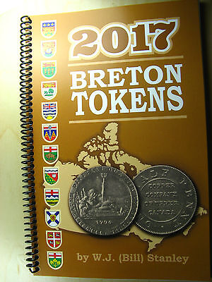Catalogue Breton Tokens 2017 compiled by W.J. (Bill) Stanley Book Canada