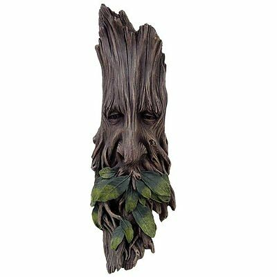 The Ancient Wise Spirit of the Woods Greenman Tree Sculpture