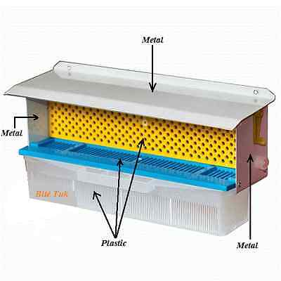 Metal/Plastic Beehive Pollen Trap With Ventilated Drawer Beekeeping tools