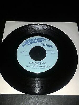 """Northern Soul, Little Ben & The Cheers """"baby You're Mine"""" On Rush"""