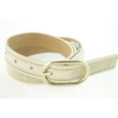 Calvin Klein Women's Belt Casual XL Beige New Leather Limited LAFO