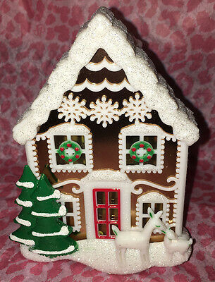 Bath and Body Works Christmas 2016 Gingerbread House Nightlight Plug In Diffuser