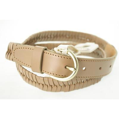 Fossil Women's Belt Casual M Camel New Leather Limited LAFO