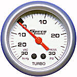 "Speco Mechanical Boost Vaccuum Gauge 2"" 30 PSI Sports Series 524-04"