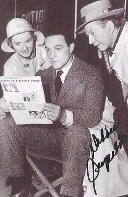 Debbie Reynolds--Gene Kelly & O'Connor in Singing in the Rain--@ Photos-1 Signed