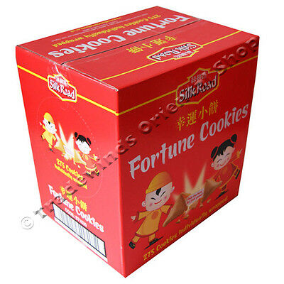 Silk Road Fortune Cookies - 275 Individually Wrapped Cookies