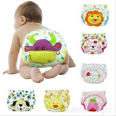 Potty Suit For Boy And Girl Baby Diapers Nappy Baby Underwear Infant Panties