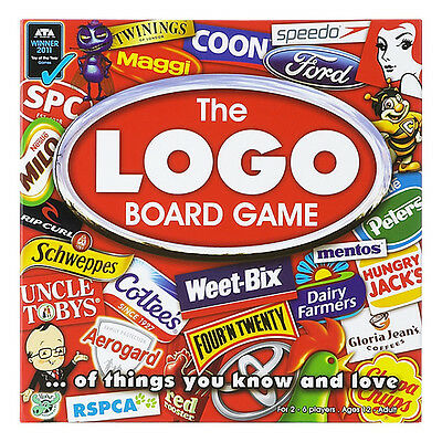 The Logo Board Game - Brand new, unopened