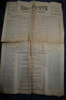 3 April 1919 AEF Newspaper in France 78th Division The Flash
