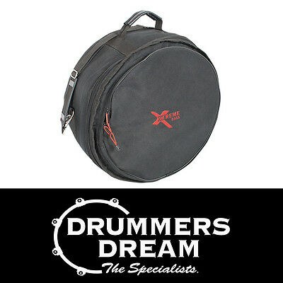 Xtreme Bags 14 x 5 Snare Drum Soft Case Bag w/Shoulder Strap, Lined & Waterproof