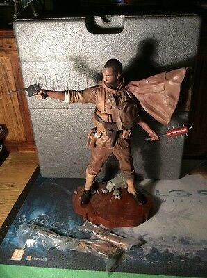 "Battlefield 1 Figure Statue 14"" Lights Up Collectors Edition NO GAME"
