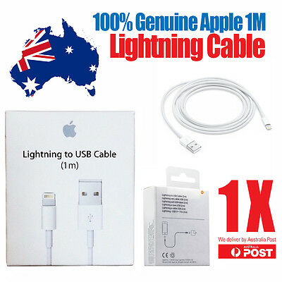 Original Genuine Apple iPhone 5 5S C 6 iPad Mini Air iPod Charger Data Cable