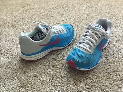 Nike Pegasus 30 Kid's Athletic Shoes Girl's Size 4Y Multicolor