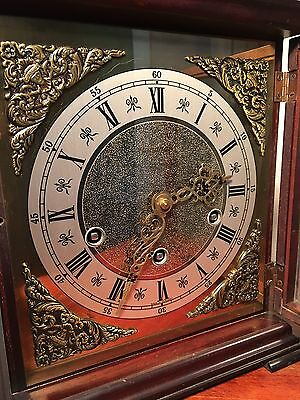 ANTIQUE C1900 JUNGHANS MAHOGANY MANTEL CLOCK! Mainly Known In Europe!